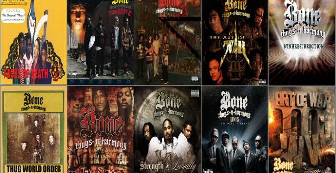 22e498546cc Which Bone Thugs-n-Harmony Album Goes the Hardest  - Hiphop-Album ...